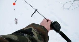 """Отчёт о ловле в мороз на """"подлёдный фидер"""""""