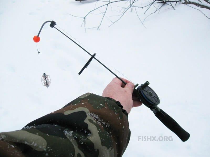 """Рыбалка в декабре на """"фидер"""" и балансиры"""