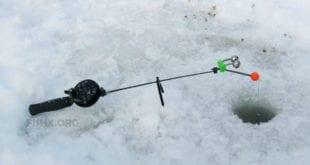 Фидерная снасть для ловли со льда