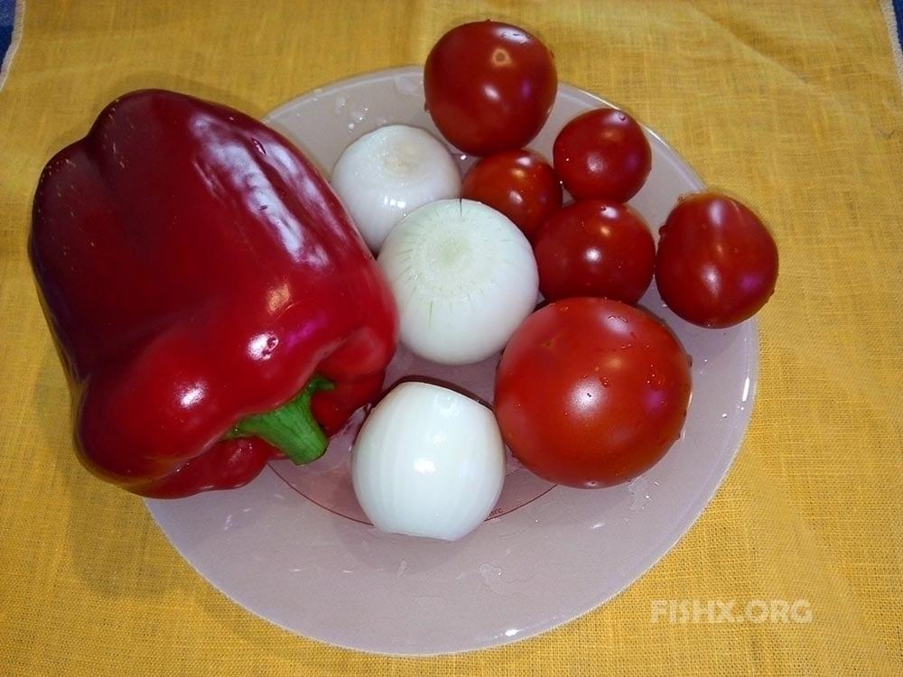 Овощи для гарнира