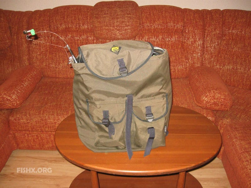 Донка фидер в рюкзаке