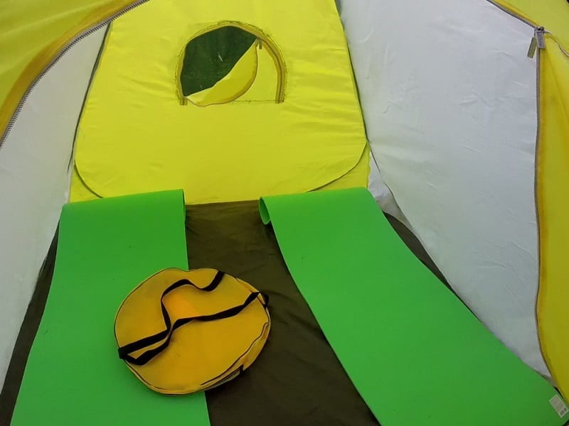 Безопасный ночлег в палатке
