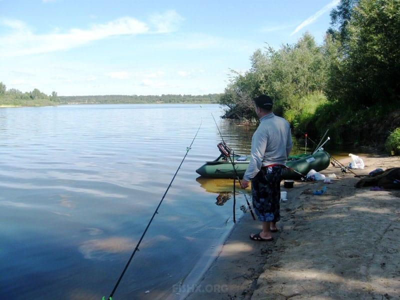 Рыбалка в Юркино на Ветлуге