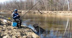 Ловля на фидер в весеннее половодье