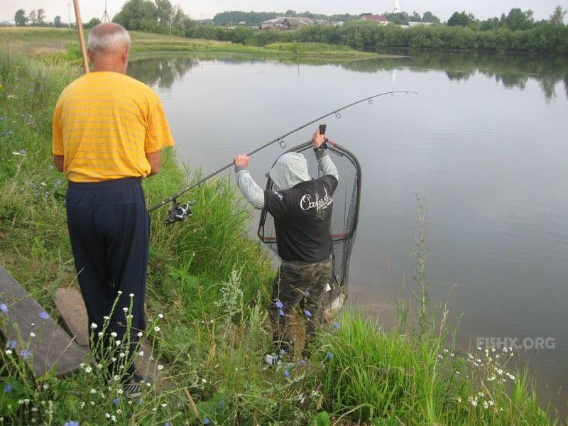 Рыбалка в Ежово