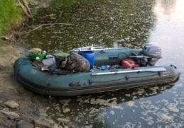 Лодка ПВХ своими руками