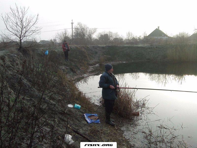 Пытаемся найти рыбу
