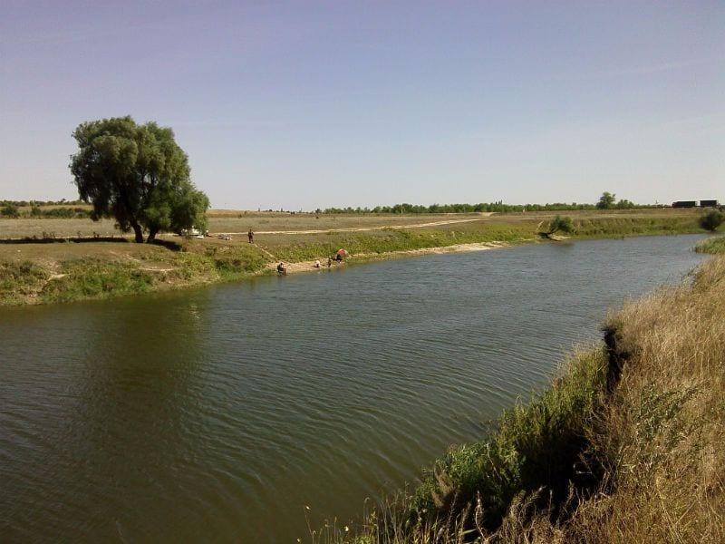 Рыбалка на реке Цимла