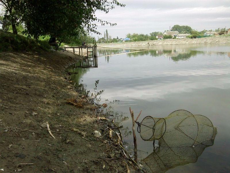 Уловистое место на реке Челбас