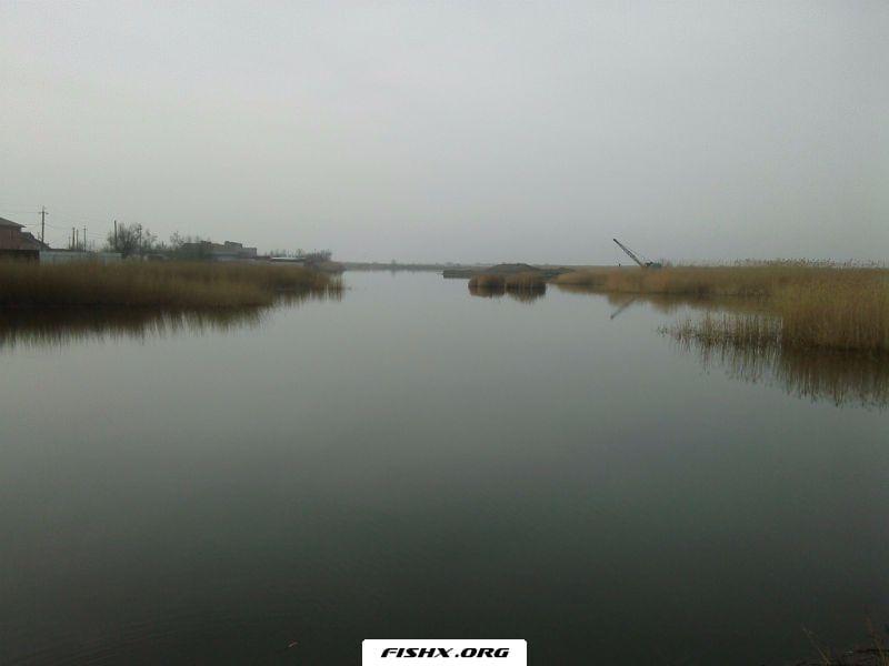 Утро на канале в хуторе Садки