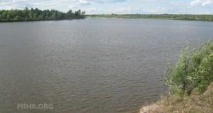 Рыбацкое местона реке Ветлуге(приток Волги) в посёлкеЮркино, Республике Марий Эл