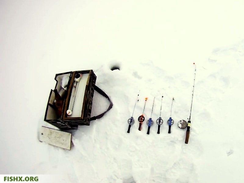 Ловля голавля со льда