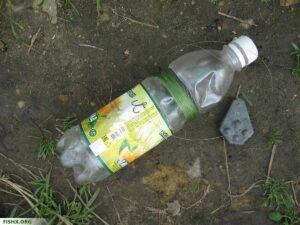 Судак на донку бутылку