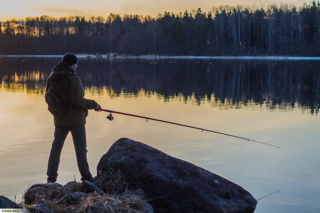 Ловля судака в апреле