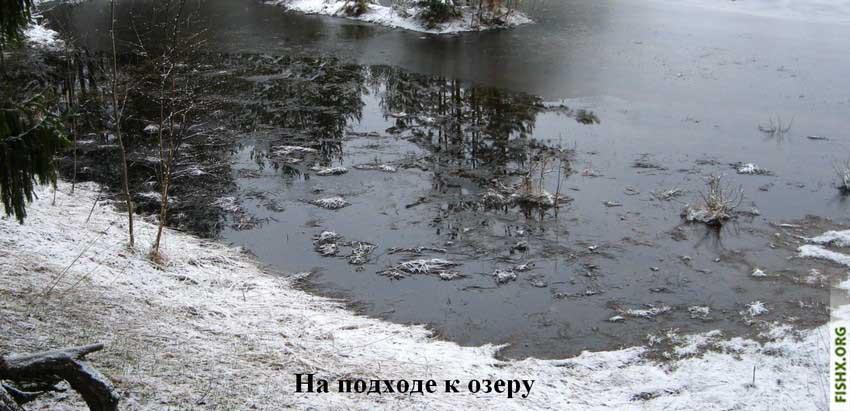 Первый лед - меры предосторожности