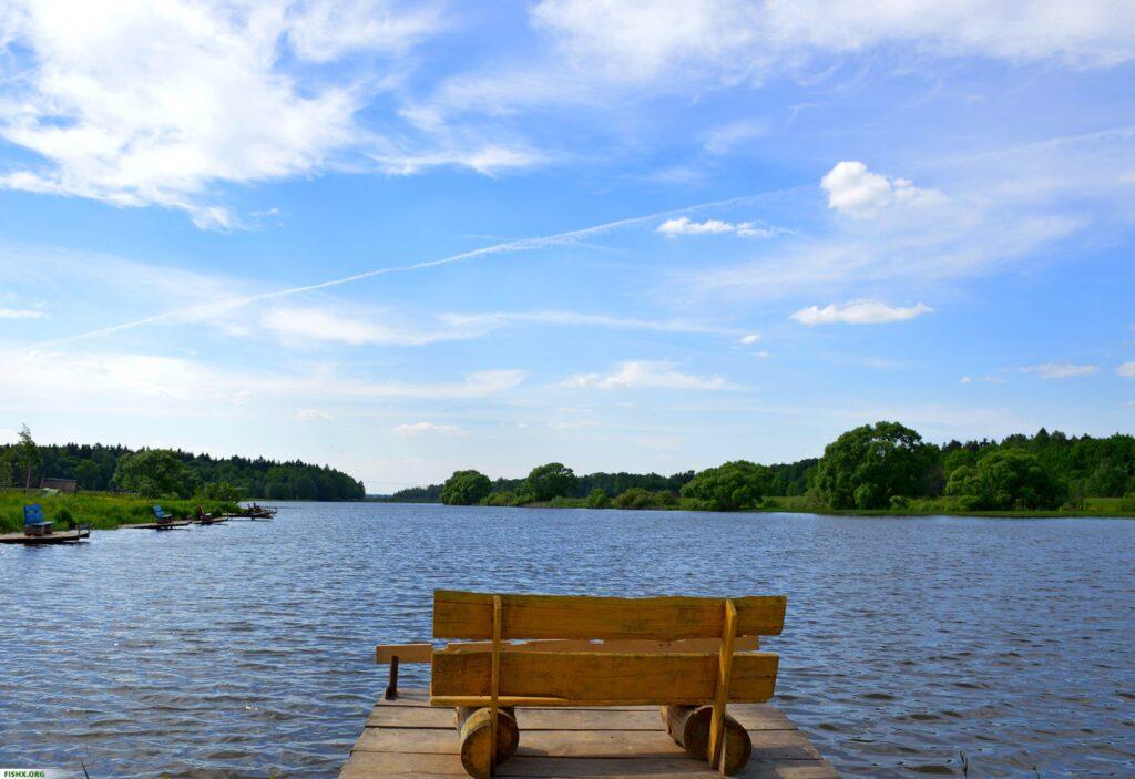 Красивое и спокойное место для рыбалки