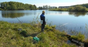 Рыбалка на прудах вблизи Йошкар-Олы